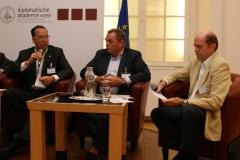 Reinbacher (VOR), Thorstensen (EFS Consulting), Rohracher (GSV)