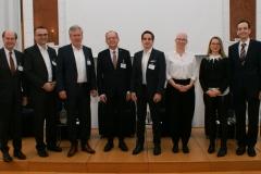 Rohracher (GSV), Steiner (TTTech), Bernasch (Virtual Vehicle), Eppel (ÖAMTC), Nikowitz (BMK), Huditz (AIT), Kühschelm (BMVIT), Datler (ASFINAG)