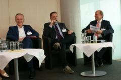 Gerhard Christiner (Vorstand APG), Oberst Thomas Kettinger (Österreichisches Bundesheer), Mario Rohracher (Generalsekretär GSV)